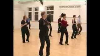 Salsa Basic Routine To Music from Salsa class for beginners 10/22