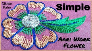 In this video I will show you how to make in a very simple and easy why so please watch the full video and enjoy the simple and easy embroidery tutorial ...