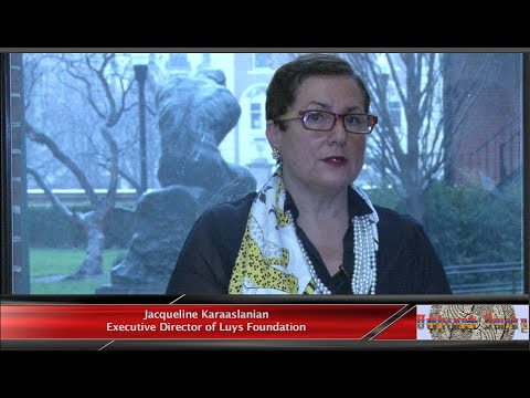 Interview with Luys Foundation Executive Director Jacqueline Karaaslanian at Columbia University