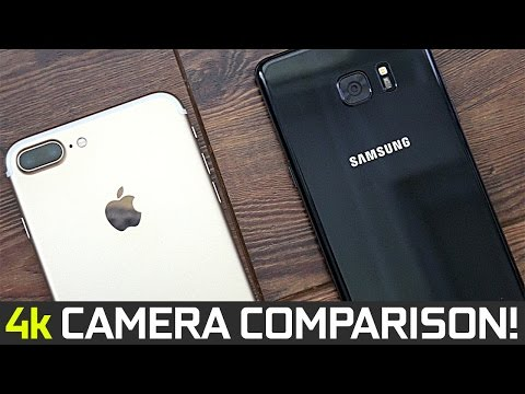 iPhone 7 Plus vs Samsung Note 7 - 4k Camera Comparison