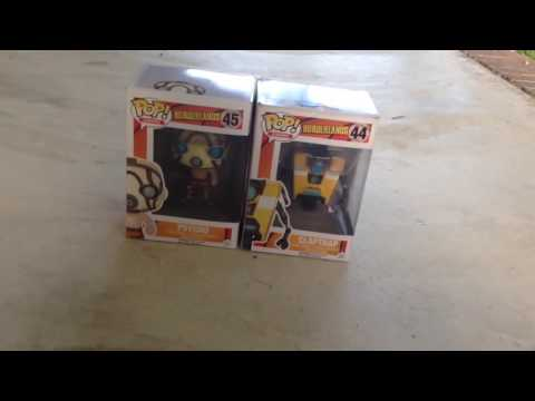 Papercraft Borderlands Funko Pops Awesome Unboxing