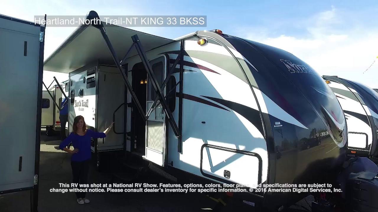 Heartland-North Trail-NT KING 33 BKSS & Heartland-North Trail-NT KING 33 BKSS - YouTube