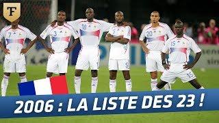 Equipe de France : la liste des 23 pour la Coupe du monde (2006)