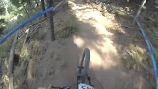 NW Cup Round #6 Silver Mtn. Bike Park Cat 2 1st place run