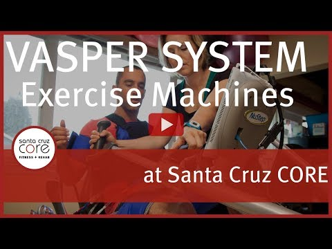 Vasper System Exercise Machine at Santa Cruz CORE Fitness + Rehab