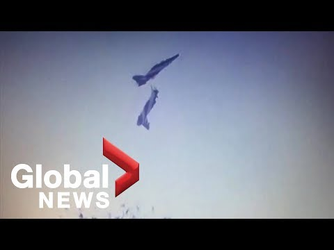 Deadly crash at airshow in India caught on camera