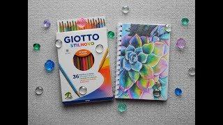 Цветные карандаши Джиотто Стилново 36 цветов / Review Giotto Stilnovo 36 - Видео от SenaiS Art