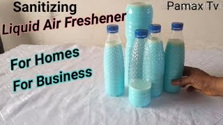 How to Make Liquid Air Freshener Fast & Easy