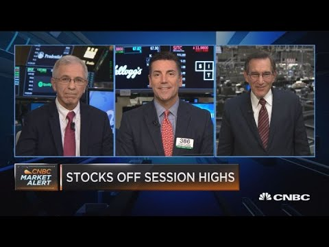Stocks off session highs