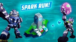 Angry Birds Transformers - Hard Levels Spark Run