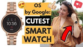 PRODUCT REVIEW - OS by Google: Fossil - Gen 4 Venture HR Smartwatch 40mm Stainless Steel - Rose Gold