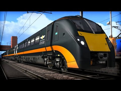 Train Simulator 2015 Gameplay - Grand Central Class 180 'Adelante' Preview!