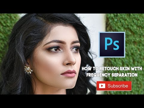 Photoshop Tutorial: How to Retouch Skin with Frequency Separation In Hindi thumbnail