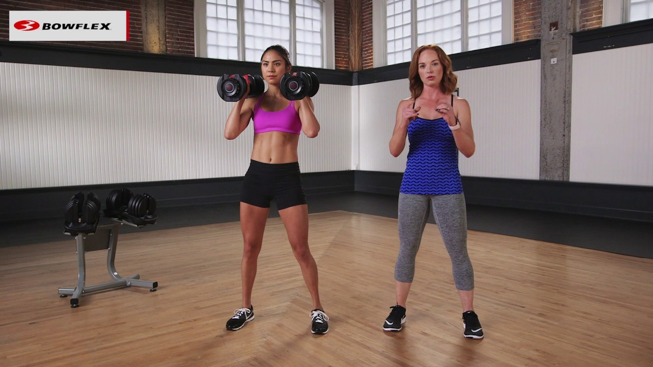 Squats with Dumbbells for Beginners