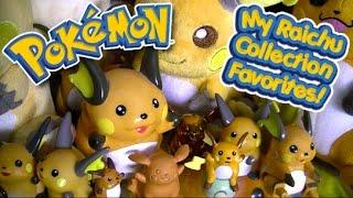 Pokemon - My Raichu Collection Favorites