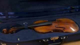 35 years after theft, a Stradivarius is found