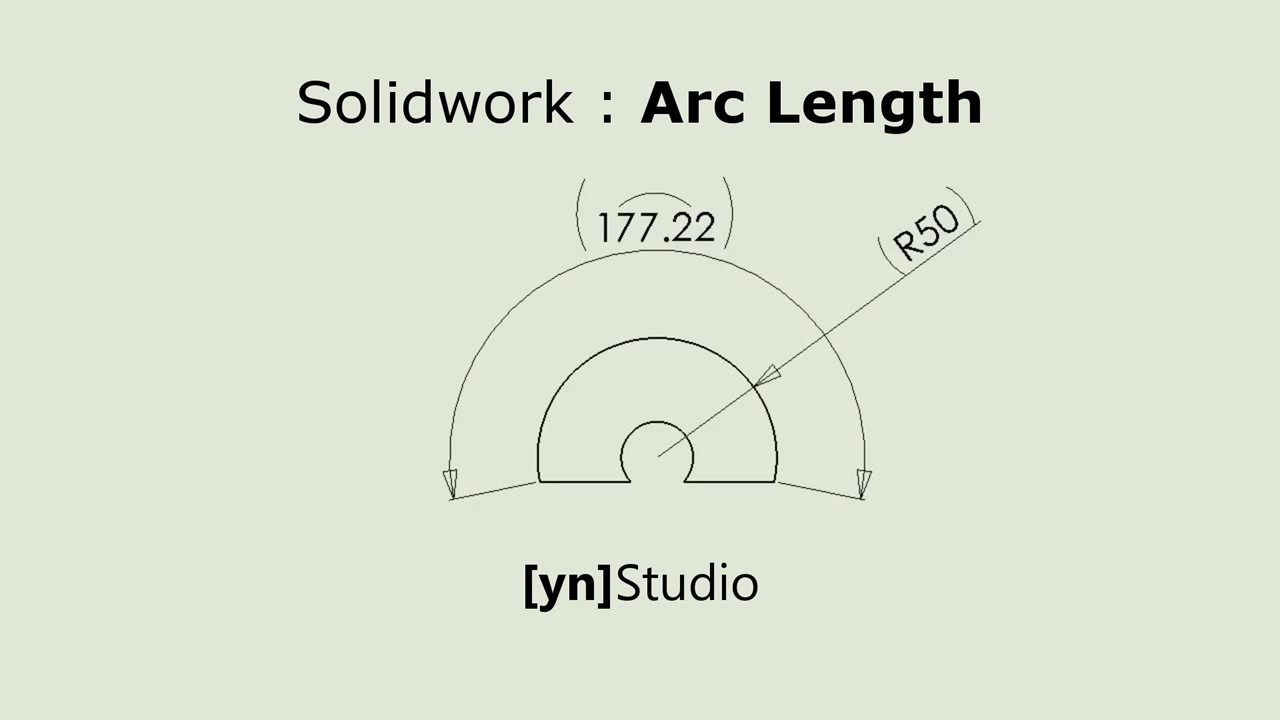 Arc Length Solidworks Youtube