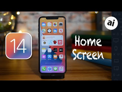 iOS 14 Widgets, App Library, & Home Screen for iPhone & iPad!