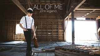 Gambar cover All of Me - John Legend - Violin and Guitar Cover - Daniel Jang