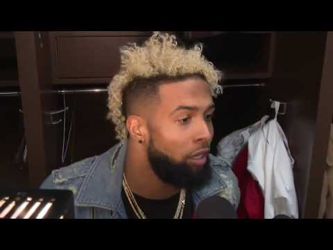 Odell Beckham Jr. Post Game Interview | Giants vs Redskins WEEK 17