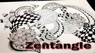 High Speed Zentangle