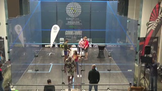 European Squash Ind. Championships 2018 Finals Day