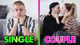 SINGLE vs. COUPLE CHALLENGE 👅