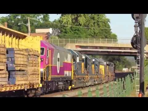 Repeat RARE! CSX Q436 Takes the switch to Adesa Framingham! by