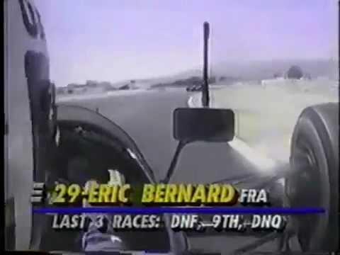 On-board: F1 Lamborghini - French GP 1990 / Eric Bernard