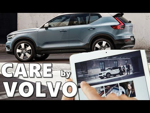 Care by Volvo For 2018 Volvo XC40
