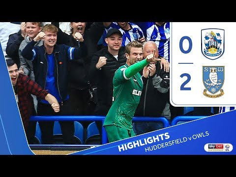 Huddersfield Town 0 Sheffield Wednesday 2 | Extended Highlights | 2019/20