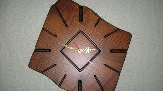 Деревянные часы своими руками(, 2016-08-15T13:17:12.000Z)
