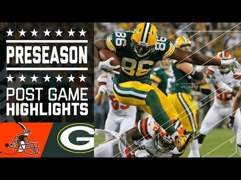 Browns vs. Packers | Game Highlights | NFL