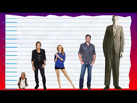 How Tall Is Keith Urban? - Height Comparison!