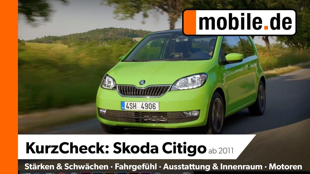 Skoda Citigo Ab 2011 Mobile De Kurzcheck Youtube