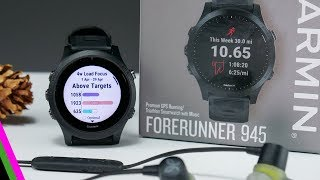 Garmin ForeRunner 945 // New Performance Features, Music, and Maps!