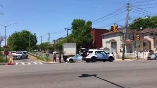 Pedestrian injured in Richmond Ave. crash