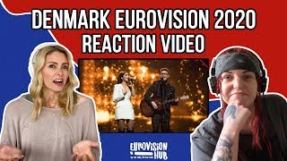 Denmark | Eurovision 2020 Reaction | Ben & Tan - YES