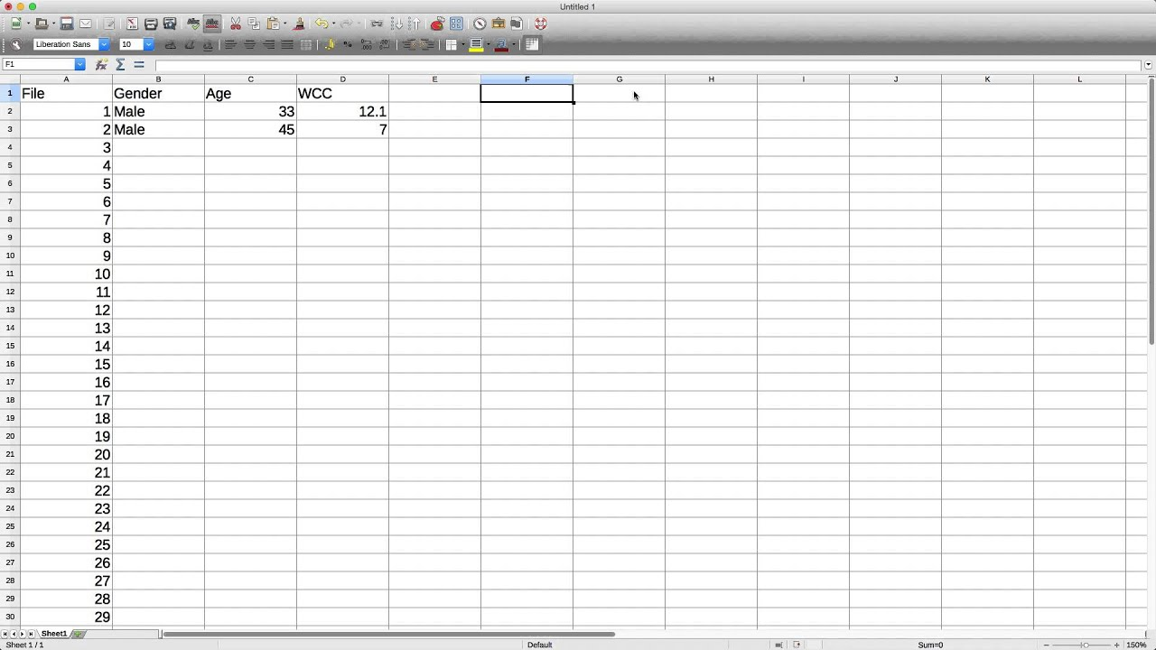 Spreadsheet software - YouTube