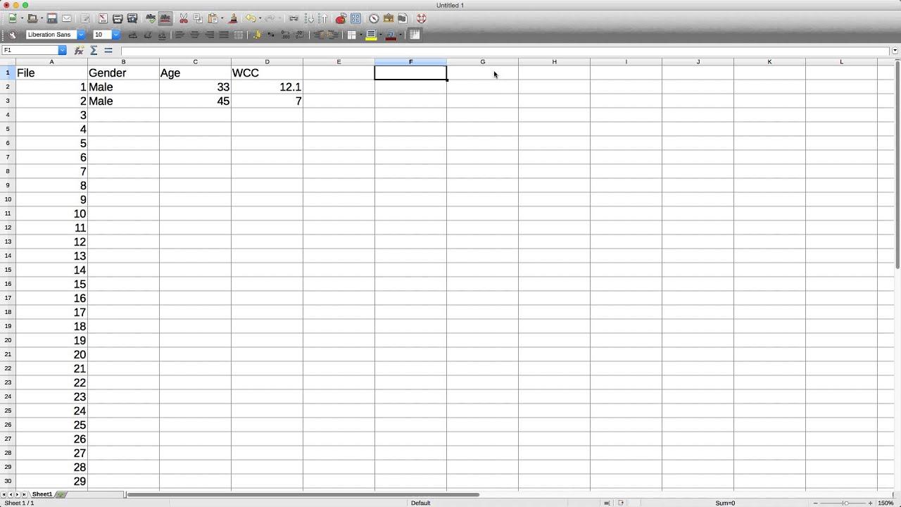 Spreadsheet software - YouTube