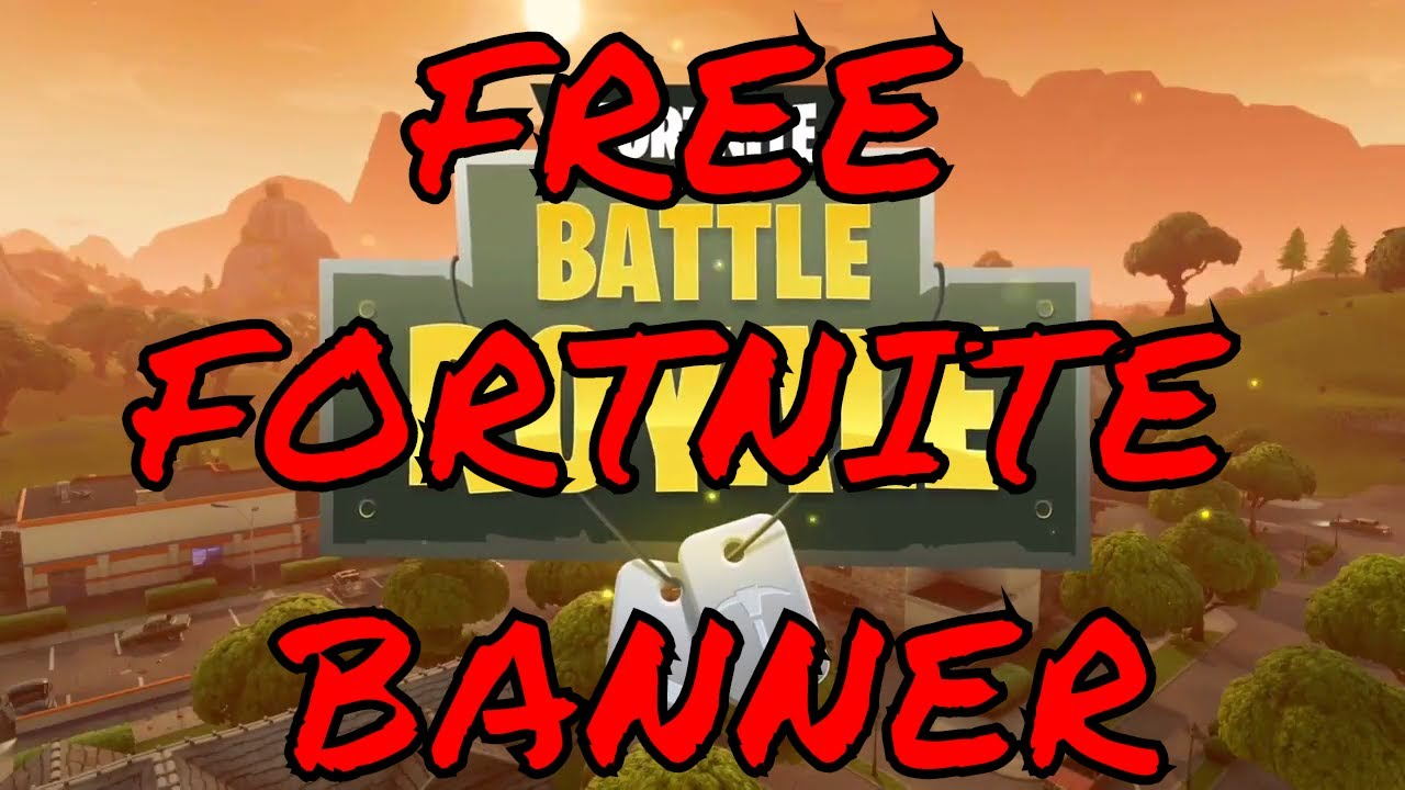 Free Fortnite Banner No Text Download Top 5 Free To Use