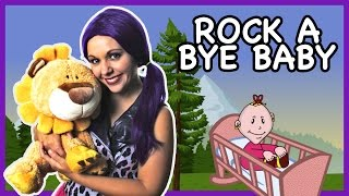 Rock a Bye Baby | Nursery Rhyme Lullaby Kids Song on Tea Time with Tayla