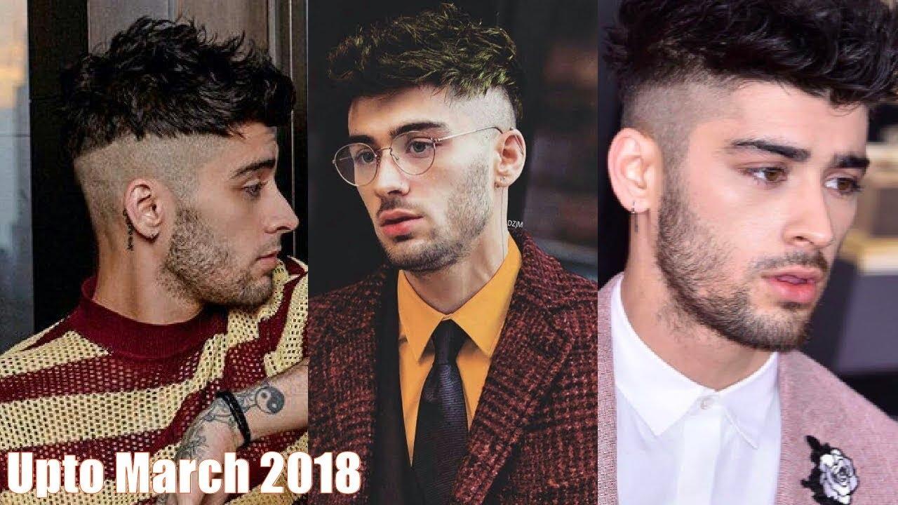 Zayn Malik Hair Evolution Upto March 2018 Youtube
