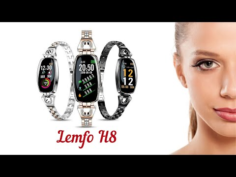 Смарт часы Lemfo H8 красивые женские Smart Watch