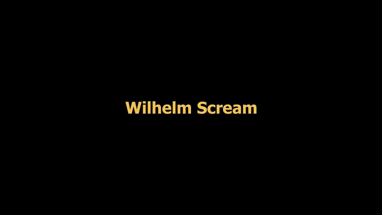 Wilhelm scream sound effect