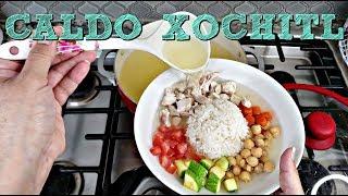 Caldo Xochitl Recipe   Simple Mexican Style Chicken Soup   Simply Mama Cooks