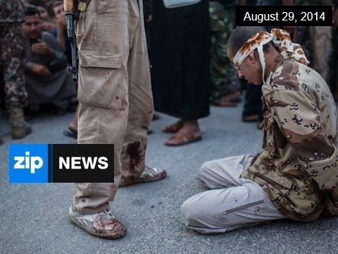 Islamic State Execute Syrian Soldiers - August 29, 2014