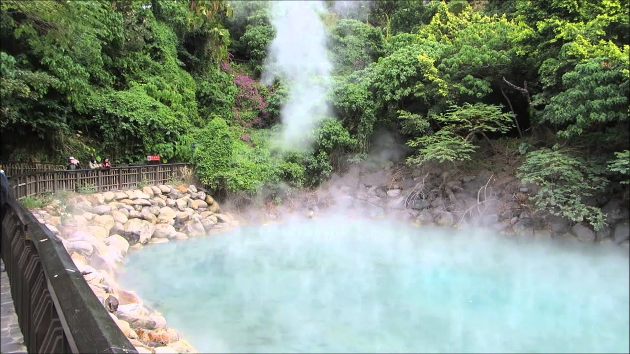 Best time for Hot Springs in Taiwan 2020 - Best Season & Map