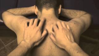 ASMR - Upper Back Tickle Massage Session 2 - Very Relaxing