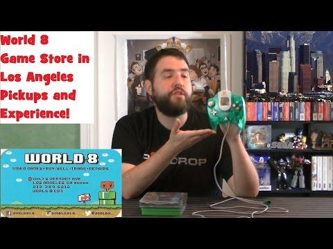 World 8 - Videogame Store in Los Angeles (2015) - Adam Koralik